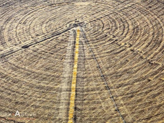 Aerial View of Circular Irrigation 09112499