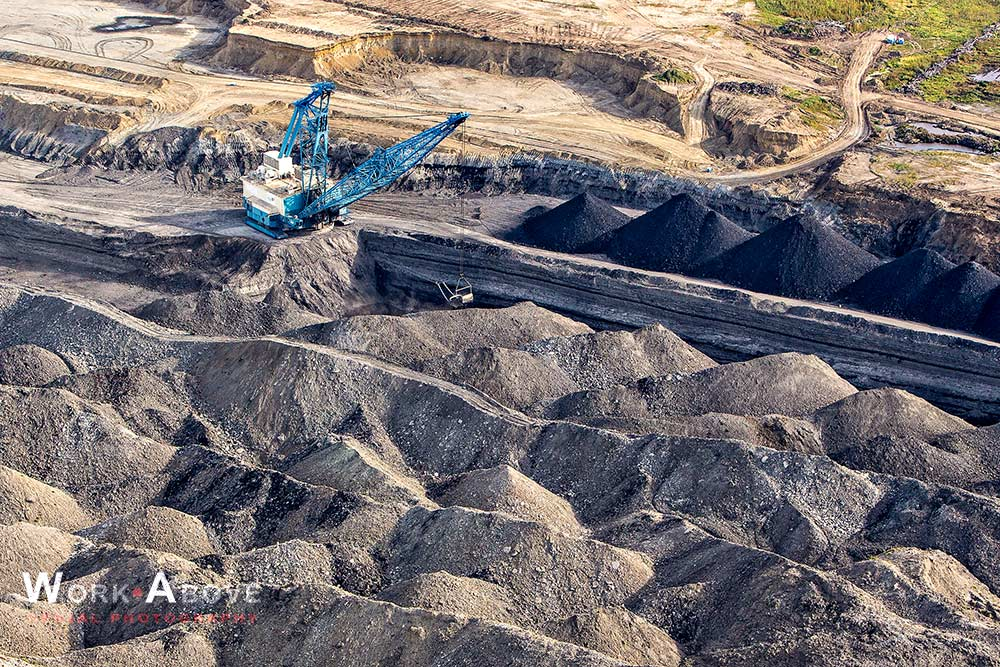 Aerial view of Coal Mining Operations 120919_5010